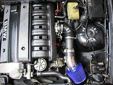 BCP BLUE 99-05 BMW E46 3-Series 323 325 328 330 Short Ram Air Intake + Filter