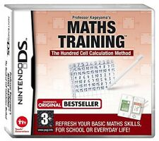 Professor Kageyama's Maths Training Nintendo DS DSi XL Brand New