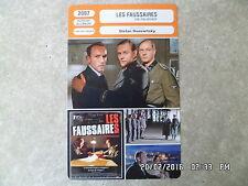 CARTE FICHE CINEMA 2007 LES FAUSSAIRES Karl Markovics August Diehl