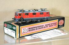 HAG 165 DIGITAL AC SBB CFF RED CLASS Re 4/4 II E-LOK LOCO 11380 MINT BOXED nc