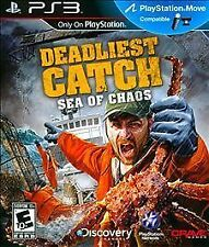 Deadliest Catch: Sea of Chaos (Sony PS3) EXCELLENT CONDITION SHIPS NEXT DAY