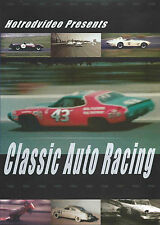 DVD Classic Auto Racing Vintage NASCAR Drag Racing Daytona Irwindale Hot Rods