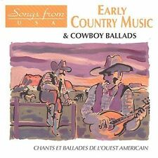 FREE US SHIP. on ANY 2 CDs! NEW CD Various Artists: Early Country Music & Cowboy