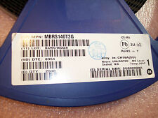 QTY (50) MBRS140T3G ON SEMI  DO-214AA  SCHOTTKY RECTIFIER DIODES 1A 40V ROHS
