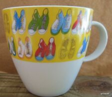 "Large Mug with High Top Sneekers 4"" Great Graphic"