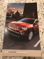 2016 Jeep Compass Owner Manual User Guide