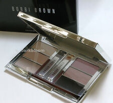 BOBBI BROWN LUXE EYE PALETTE w PINK OPAL Shimmer OYSTER GREY PEARL LILAC Sparkle