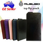 Genuine Musubo Leather Flip cover case pouch For Sony Xperia Z L36H card pouch
