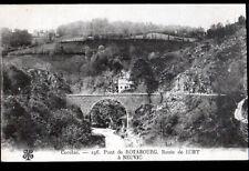 ROTABOURG (19) VILLA & PONT , Route de BORT à NEUVIC début 1900