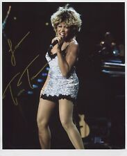 Tina Turner SIGNED Photo 1st Generation PRINT Ltd 150 + Certificate / 1