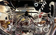 Hayabusa Chrome Rear Brake Caliper Hanger 240 300 330 360 BigTire Kit(082312-001