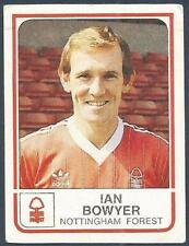PANINI FOOTBALL 84-#192-NOTTINGHAM FOREST-IAN BOWYER