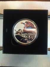 2016 Canada Batman V Superman Dawn Of Justice $30 2 Oz Fine Silver Coin