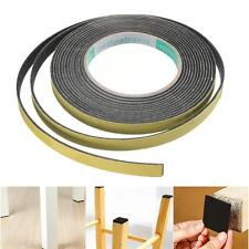 Weather Stripping Sponge Rubber Strip Single Sided Adhesive Foam Cushion Tape