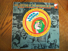 """LORD BUCKLEY """"BAD RAPPING OF THE MARQUIS DE SADE"""" LIVE 1960 VG+ HIPSTER"""