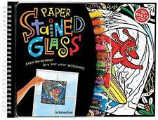 Paper Stained Glass: Color-by-Number Art for Your Windows (Klutz), , Good Book
