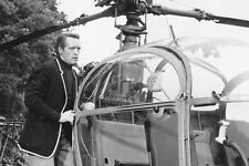 Patrick McGoohan The Prisoner by helicopter TV 11x17 Mini Poster