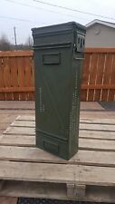120MM AMMO CAN BOXES CASES FREE SHIPPING Good condition bigger than 50 30 cal