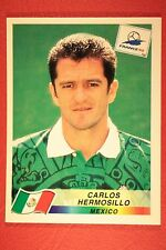 PANINI WC WM FRANCE 98 1998 N. 366 MEXICO HERMOSILLO WITH BLUE BACK MINT!!