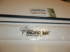 Pacific Bay Tradition II Fly Blank 9' 10 wt 3 pc Matte Grey IM6 Graphite