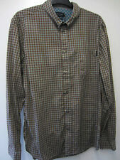 Paul Smith Check Shirt with Mother of Pearl Buttons Size L Pit to Pit 23""