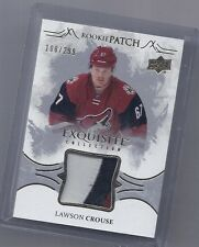 16-17 2016-17 UPPER DECK EXQUISITE LAWSON CROUSE ROOKIE PATCH /299 RP-LC COYOTES
