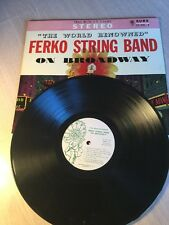 Rare Obscure Record Album Ferko String Band Mummers On Broadway Broomall PA
