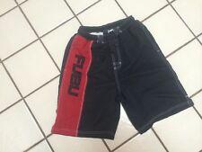 FUBU COLLECTION Board Shorts Boys LG 14-16_Red, Black Swim Wear Logo