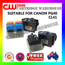 DIY Ink Refill 9 Times for CANON PG40 CL41 GENUINE cartridges