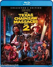 THE TEXAS CHAINSAW MASSACRE 2 COLLECTOR'S BLU-RAY - SCREAM FACTORY