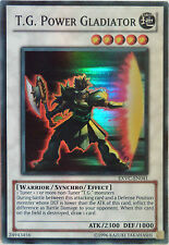 YUGIOH T.G. POWER GLADIATOR EXVC-EN041 SUPER RARE