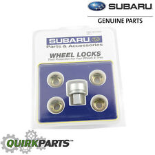 NEW 2000-2017 Subaru Steel Wheel Lock Set Impreza Legacy Outback OEM T3010YS010