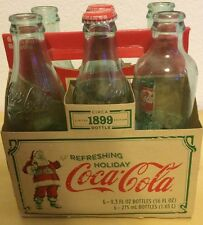 COCA COLA 6 PACK & CASE:CIRCA 1899 LIMITED EDITION,2007 & 1996 BOTTLES Collector
