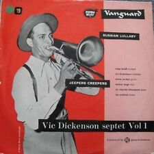 """VIC DICKENSON-10"""" Vinyl LP- 'SEPTET' (Includes RUSSIAN LULLABY/JEEPERS CREEPERS)"""