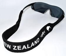 Wrapz NEW ZEALAND tutti neri Galleggiante Neoprene Occhiali TRACOLLA x30cm 45 SOLO CINTURINO