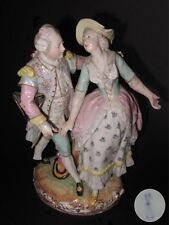 MEISSEN DANCING COUPLE FIGURE FIGURINE PORCELAINE  21,2 cm