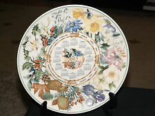 Wedgwood Calendar Plate 2003 Four Seasons, Commissioned for Daily Mail.