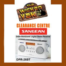 Sangean DAB+ FM Bluetooth Digital Radio DPR-26BT+Handle+ AUST SANGEAN WARRANTY