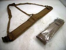 USMC Military Eagle Industries Padded War Belt w/Suspenders Small  Sub-Belt