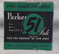 Parker Vintage 51 Ink---Pan American Green--3oz