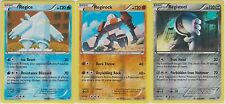 Pokemon Legendary Golems 3 Cards Reverse Holo Set (Regice, Regirock, Registeel)