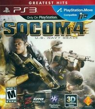 SOCOM 4: U.S. Navy SEALS PS3   (Sony Playstation 3, 2011)