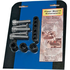 Pro Pad Black Floorboard 3/4 Extension Spacer Kit Harley Touring 93-08