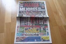 DIARIO MARCA,NUEVO. FINAL DEL MUNDIAL DE CLUBES DE 2014.R. MA. 2- S. LORZ 0.