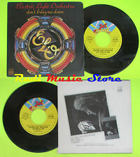 LP 45 7''ELECTRIC LIGHT ORCHESTRA ELO Don't bring me down 1979 italy(*)cd mc dvd