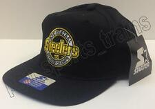 Starter Pittsburgh Steelers 1995 AFC Central Division Vintage Snap-Back Hat Cap