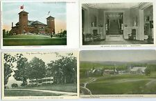 East Northfield MA Collector's Set of 4
