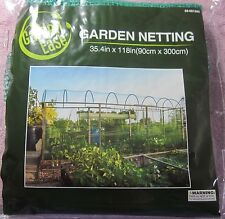 "Garden Ease Backyard Netting Anti-Bird Small Animals Garden Mesh 35.4""x118"" NEW"