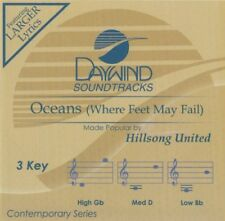 Oceans (Where Feet May Fail) Accompaniment CD By Hillsong United Daywind