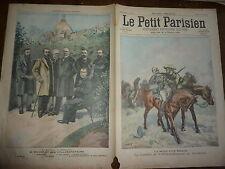 PETIT PARISIEN - 1900 N° 585 - mort d'un brave TRANSVAAL / Picard à l'exposition